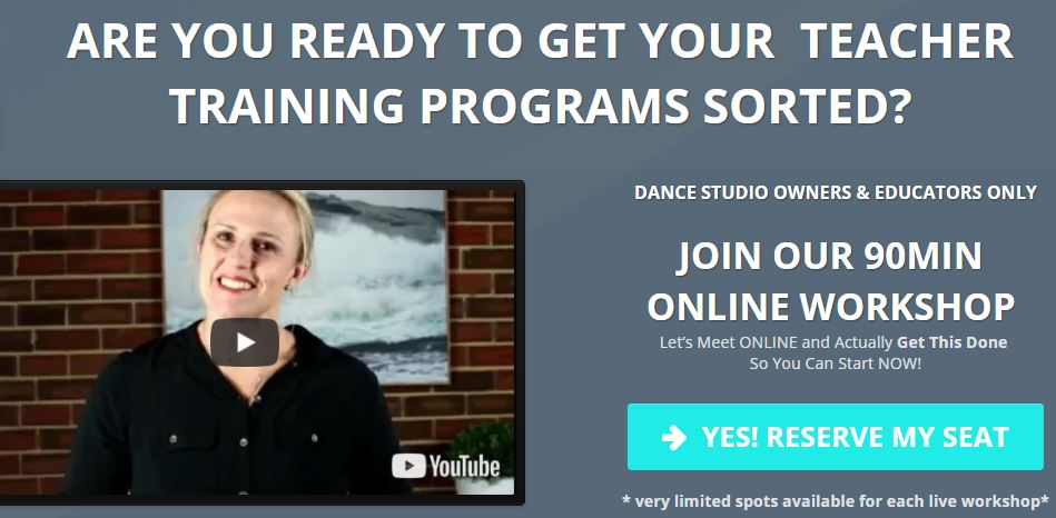 Reserve your seat at our Free 90 minute online workshop